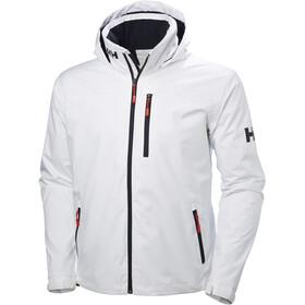 Helly Hansen Crew Hooded Midlayer Jacket Men, biały